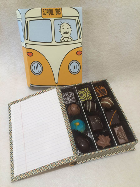 teacher appreciation chocolates
